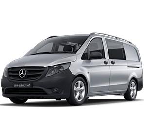 Mercedes Vito dubbel cabine 6P L2H1